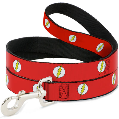 Dog Leash - Flash Logo Red/White/Yellow