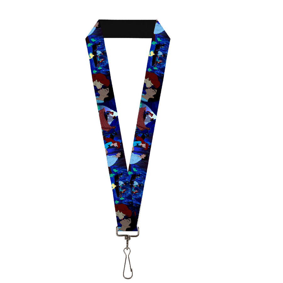 "Lanyard - 1.0"" - The Little Mermaid Ariel & Eric Boat Scenes"