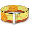 Cinch Waist Belt - Toy Story Jessie Bounding Cowboy Buckle Lasso Stripe Yellow Red Brown