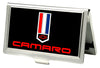 Business Card Holder - SMALL - Camaro Badge FCG Black Red White Blue