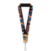 "Lanyard - 1.0"" - Disney Princess Scenes Framed"