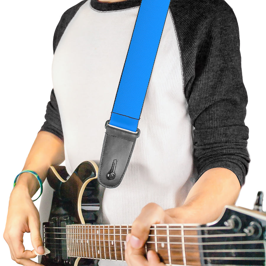 Guitar Strap - Baby Blue