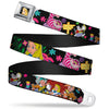 Alice CLOSE-UP Full Color Seatbelt Belt - Alice's Encounters in Wonderland Webbing