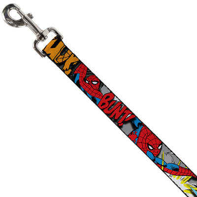 Dog Leash - Spider-Man w/Action Verbiage