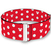 Cinch Waist Belt - Minnie Mouse Polka Dot Mini Silhouette Red White