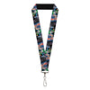 "Lanyard - 1.0"" - Joker BANG Gun Alley Pose CLOSE-UP"