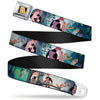 Sleeping Beauty Princess Aurora Full Color Seatbelt Belt - Sleeping Beauty Woods Scenes Webbing