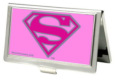 Business Card Holder - SMALL - Superman FCG Pink