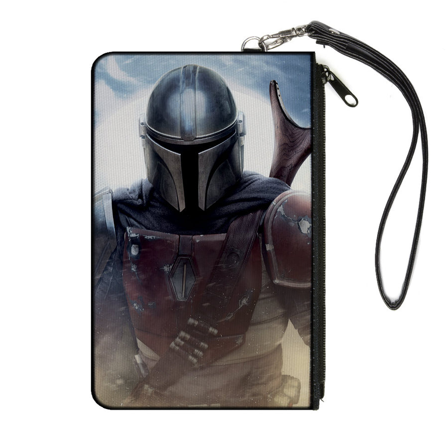 Canvas Zipper Wallet - LARGE - Star Wars The Mandalorian Vivid Pose