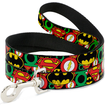 Dog Leash - Justice League Stacked Logos