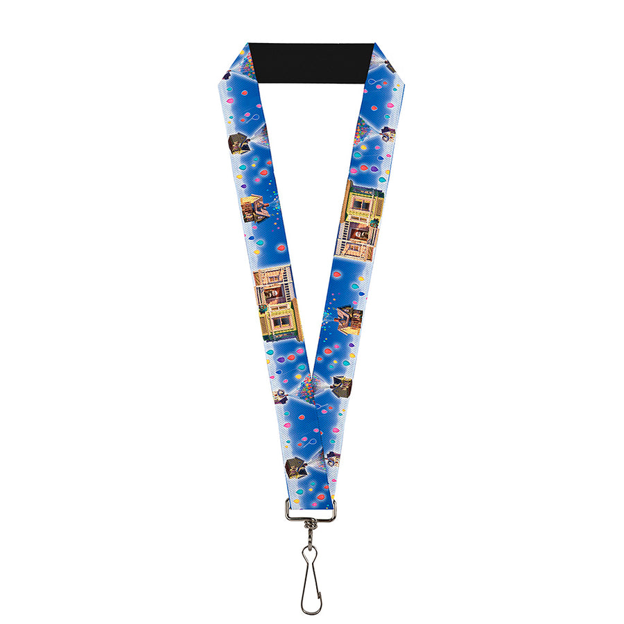 "Lanyard - 1.0"" - Up Carl on Porch Flying House Balloons"