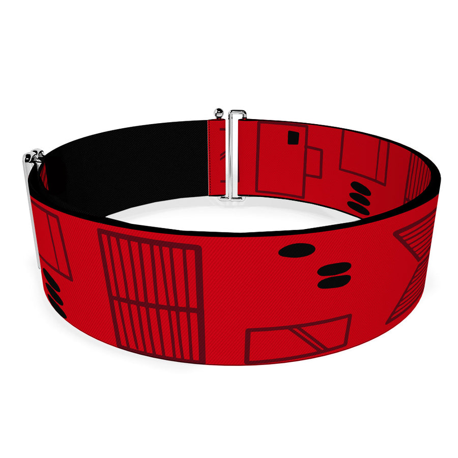 Cinch Waist Belt - Star Wars Sith Troopers Utility Belt Bounding Red Black Gray