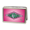 Business Card Holder - LARGE - Harry Potter HONEYDUKES Logo FCG Pinks Greens