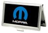 Business Card Holder - SMALL - MOPAR Logo FCG Black Blue White