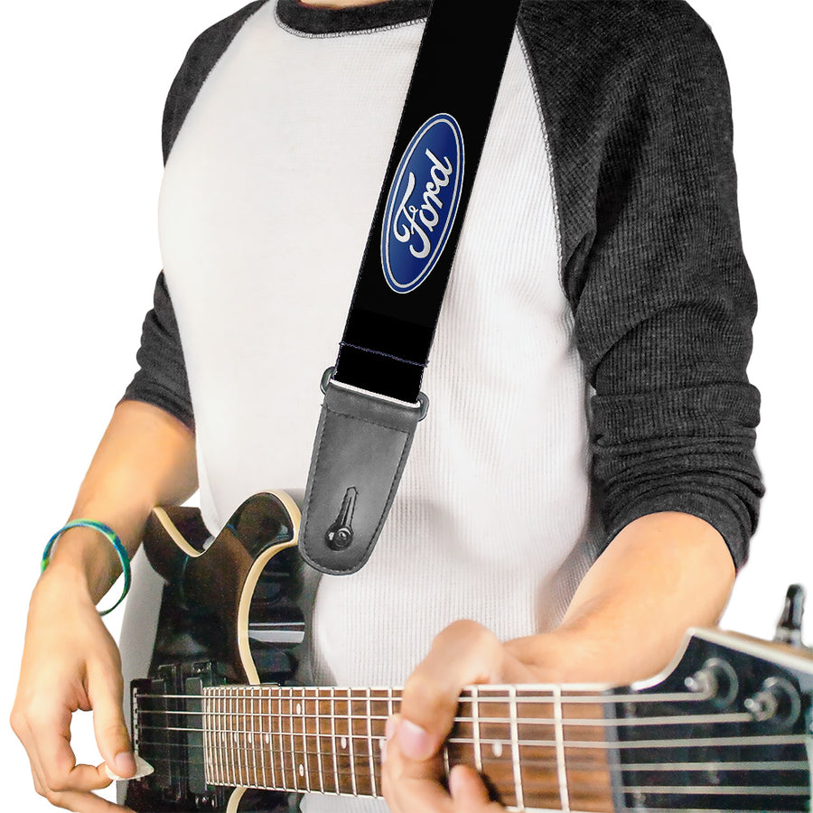 Guitar Strap - Ford Oval Logo REPEAT
