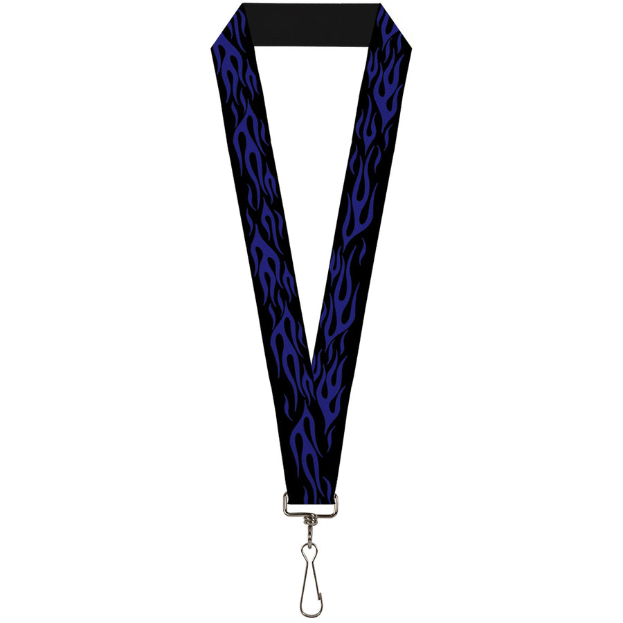 "Lanyard - 1.0"" - Flame Blue"