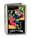 Business Card Holder - LARGE - HARLEY QUINN Night and Day Comic Book Character Blocks FCG