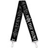 Purse Strap - SUPERNATURAL JOIN THE HUNT Icons Logo Pentagrams Black White