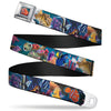 Nemo Smiling Full Color Seatbelt Belt - Nemo & Friends Group Webbing