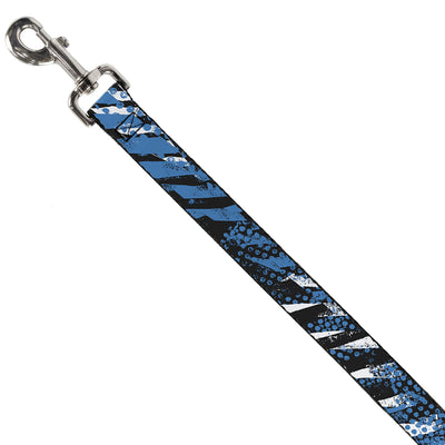 Dog Leash - Grunge Tread Blue