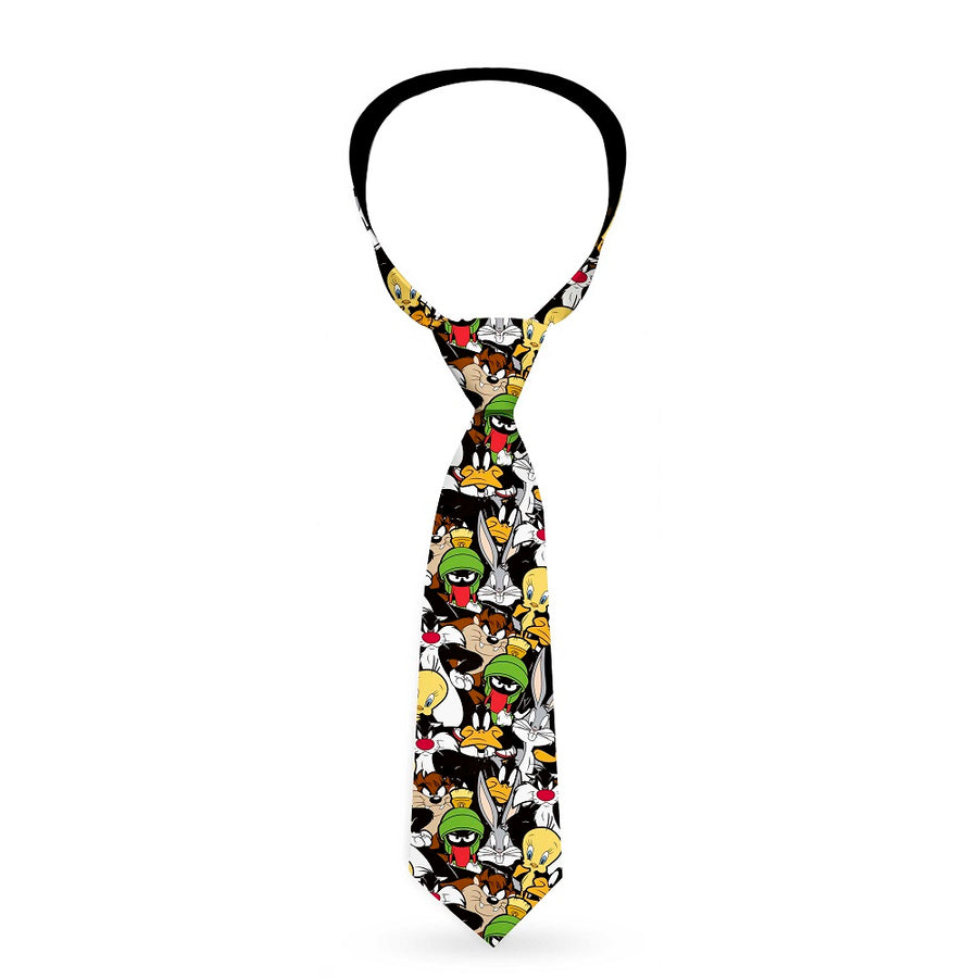 Necktie Standard - Looney Tunes 6-Character Stacked Collage