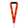 "Lanyard - 1.0"" - Wonder Woman Logo Red"