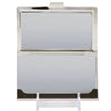 Business Card Holder - SMALL - CHEVROLET Bowtie Logo Black Silver Gold White