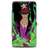 Hinged Wallet - Dr Facilier Spell Pose + Skull & Crossbones Black Greens
