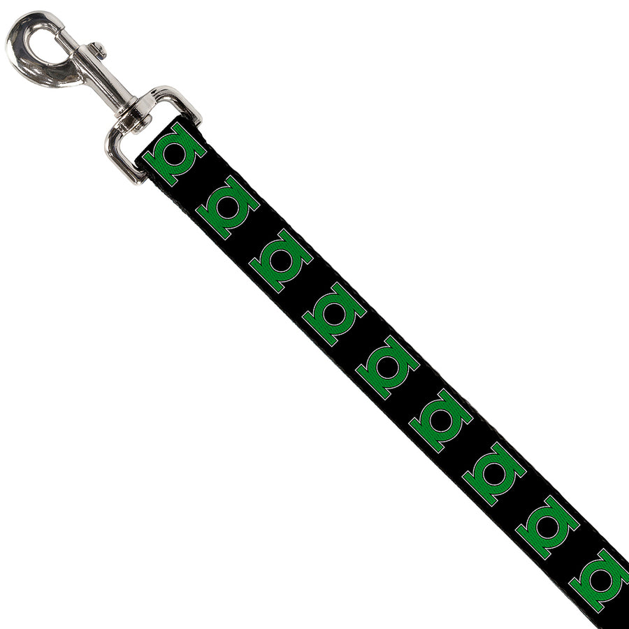 Dog Leash - Green Lantern Logo Black/Green