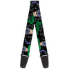 Guitar Strap - The Riddler w Batman Silhouette