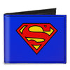 Canvas Bi-Fold Wallet - Superman Blue