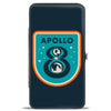 Hinged Wallet - APOLLO 8 Orbit Blues Orange White