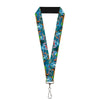 "Lanyard - 1.0"" - Stitch Hula Dance 5-Poses"