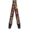 Guitar Strap - DC Bombshell Pin-Up Girls