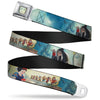 Evil Queen Face CLOSE-UP Full Color Seatbelt Belt - Snow White/Dwarves/Old Witch/Evil Queen Scenes Webbing