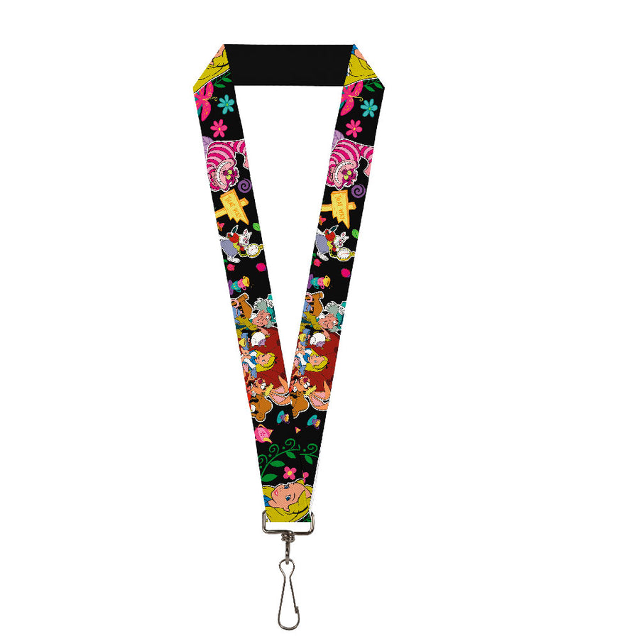 "Lanyard - 1.0"" - Alice's Encounters in Wonderland"