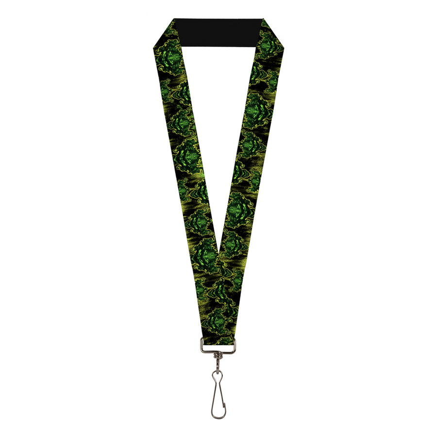 "Lanyard - 1.0"" - Tattoo Johnny-Evil Clown"