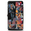 MARVEL UNIVERSE Hinged Wallet - Spider-Man & Black Cat Scene Blocks