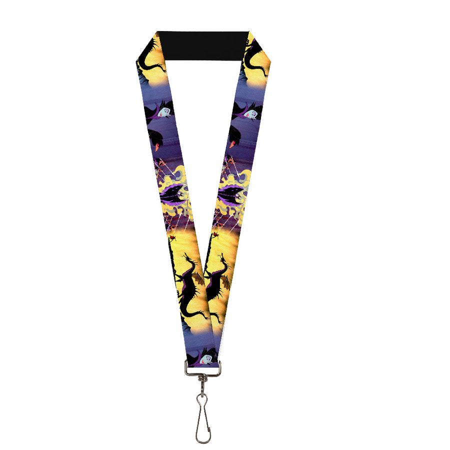 "Lanyard - 1.0"" - Maleficent Poses"