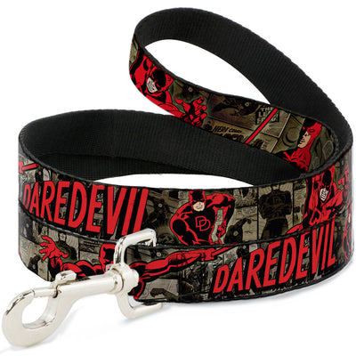 Dog Leash - DAREDEVIL Action Poses/Comic Panels Grays/Red