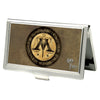 Business Card Holder - SMALL - Harry Potter Wizengamot Logo IGNORANTIA JURIS NEMINEM EXCUSAT FCG Browns