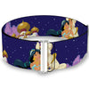 Cinch Waist Belt - Aladdin & Jasmine Magic Carpet Ride Scenes