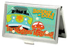 Business Card Holder - SMALL - SCOOBY-DOO THE MYSTERY MACHINE Scene FCG