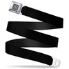 GM Seatbelt Belt - Black Webbing