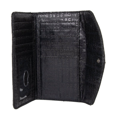 Women's Detachable Wallet Coin Purse - Darth Vader Quilted PU