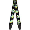 Guitar Strap - Nightmare Before Christmas Jack Expression10 Electric Glow