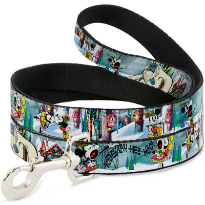 Dog Leash - Mickey & Minnie Yodelberg Scenes