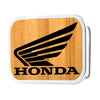 HONDA Motorcycle Framed Reverse GW Black - Matte Rock Star Buckle