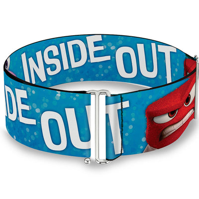 Cinch Waist Belt - INSIDE OUT 6-Character Pose Sparkle Blue White