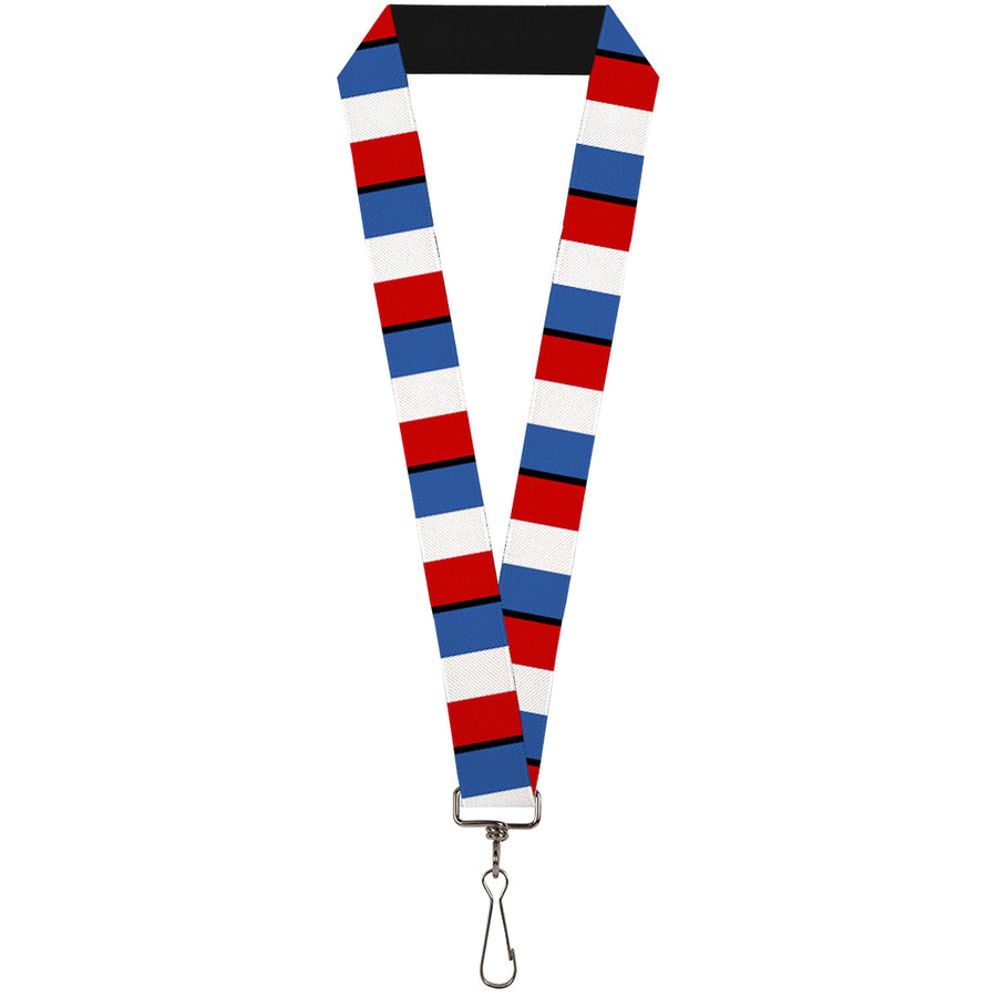 "Lanyard - 1.0"" - France Flags"